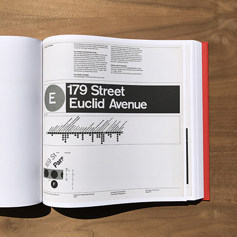 The NYCTA Graphics Standards Manual